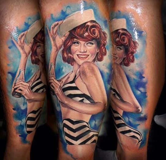 tatuajes de chicas pin up 98