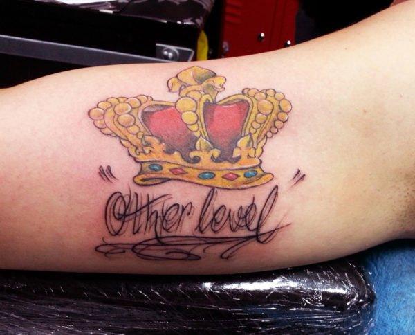 De 20 fotos de bonitos tatuajes de coronas - Tattoo disenos a color ...