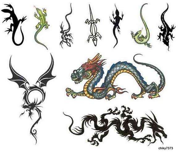 tatuajes de dragones 3