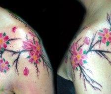 Tatuajes de Flores Japonesas