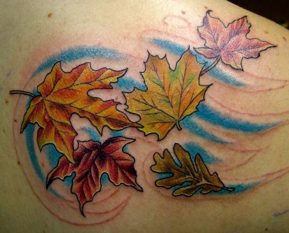 Tatuajes De Hojas Tendenziascom