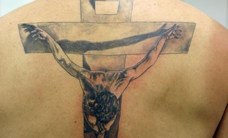 tatuajes-de-jesús-en-la-cruz