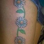 tatuajes-de-margaritas1