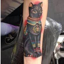 tatuajes-egipcios-gato