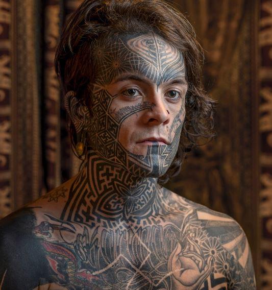 Los Tatuajes En La Cara Fotos Tendenziascom