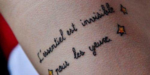 Los mejores tatuajes en Francés