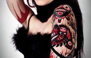 Tatuajes Haida