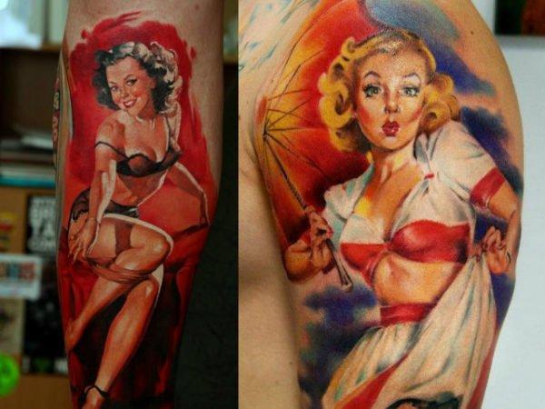 tatuajes-hombres-chicas-color