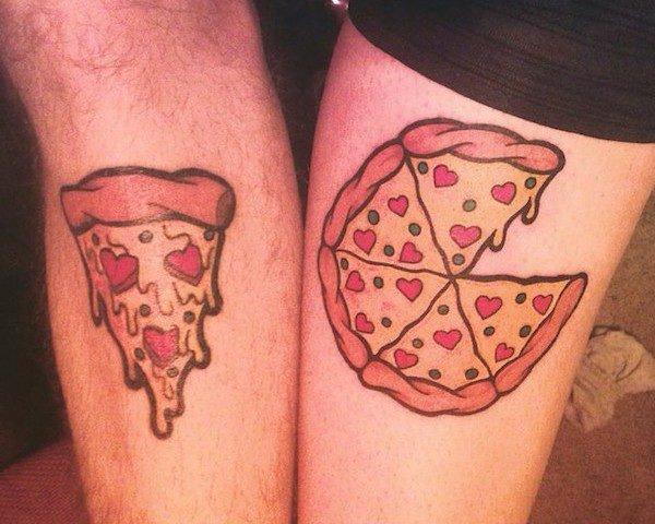 tatuajes-para-parejas-pizza