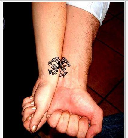 Tatuajes Compartidos Para Parejas Imagenes tatuajes para parejas - tendenzias