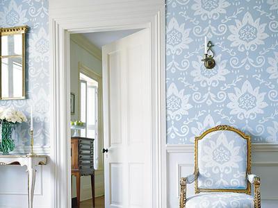Tendencias en papel para paredes - Ultimas tendencias en decoracion de paredes ...