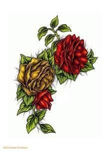 Tatuajes de flores-