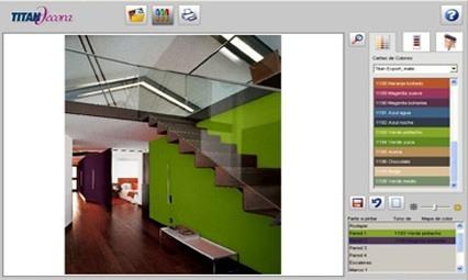Pintura virtual titan decora - Simulador de colores de pinturas para interiores ...