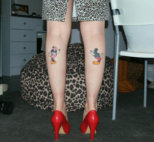 Tatuajes de Mickey Mouse