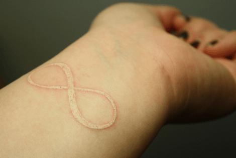 Tatuajes en blanco