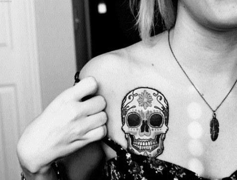 Tattoos Sugar skull