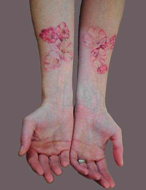 Tatuajes Que Parecen Acuarelas Tendenziascom