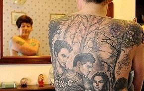 Tatuajes de Crepúsculo (por todo el cuerpo)