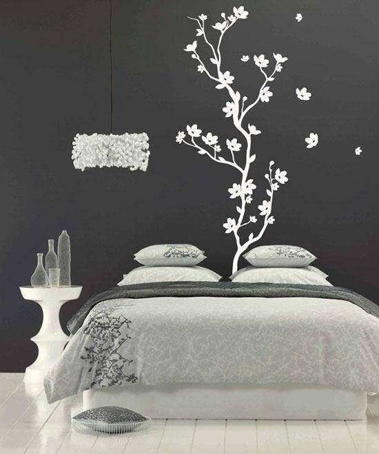 Murales y vinilos para decorar nuestro hogar - Stencil per camera da letto ...