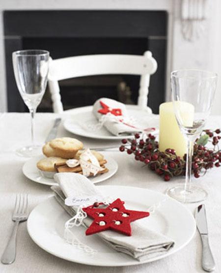Vistiendo la mesa para navidad manualidades tv - Decoracion de navidad para mesas ...
