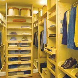 Walking closet for Diseno de habitacion con closet