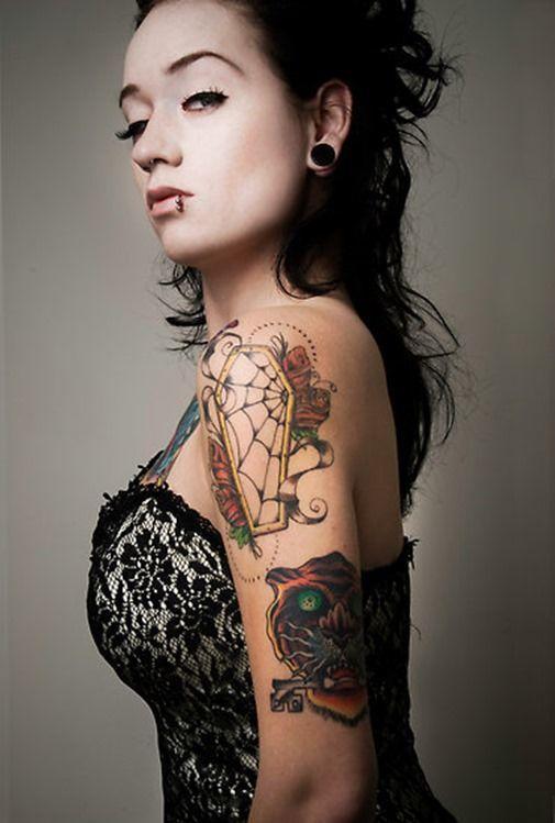 tatuaje de telarañas significado