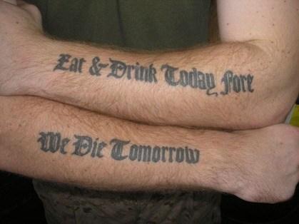 Tatuajes de letras